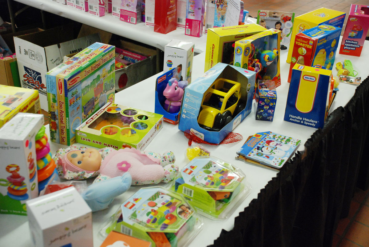 Toddler toys at Heartside Community Christmas Store